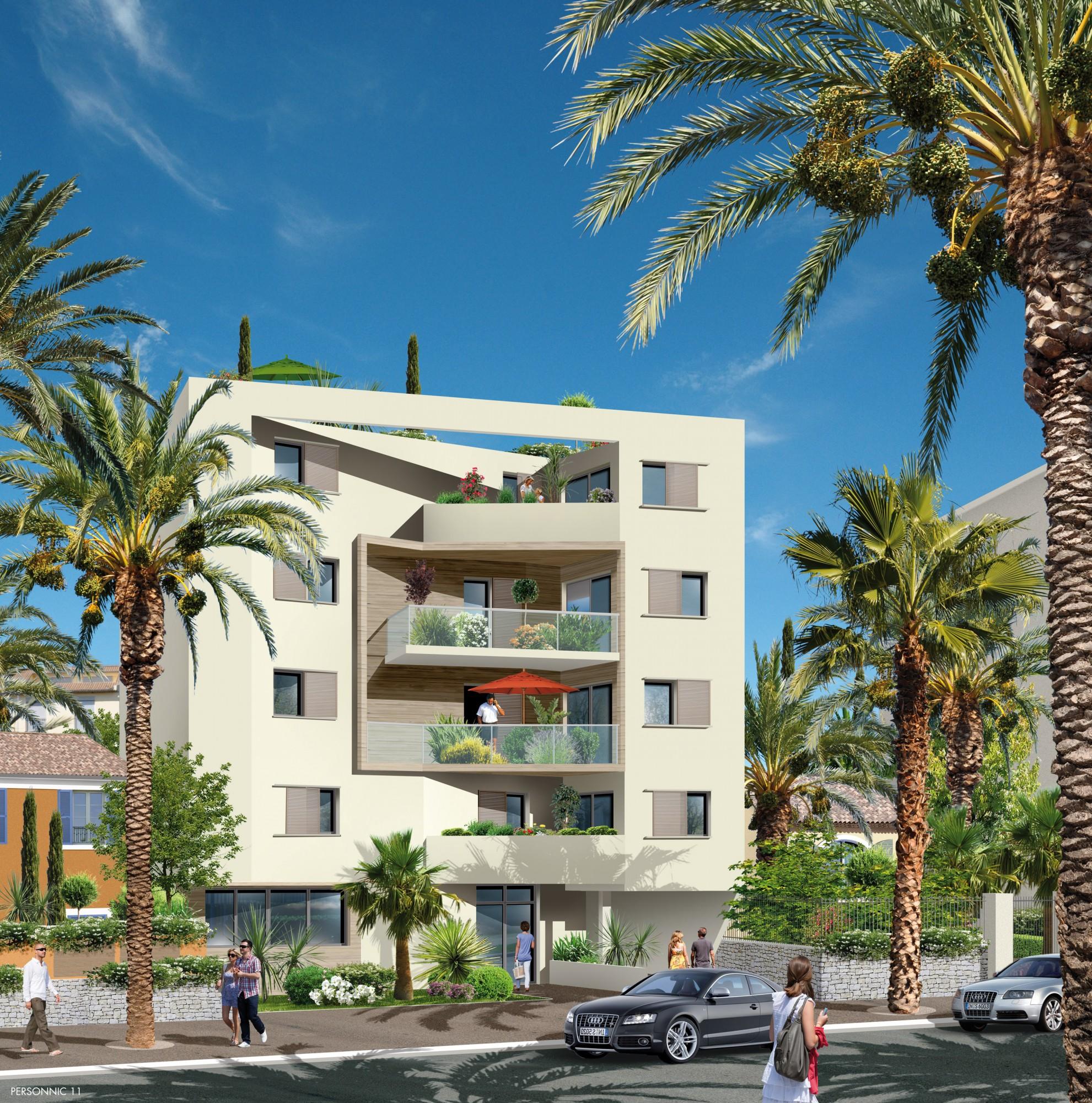 18 OBLIUS RIQUIER - HYERES avec villa sur le toit